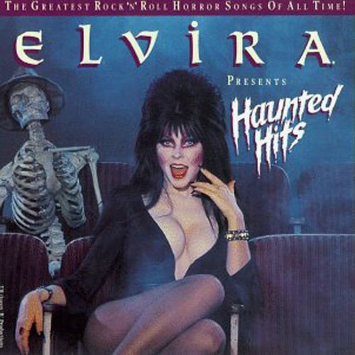 Elvira Presents Haunted Hits Cover