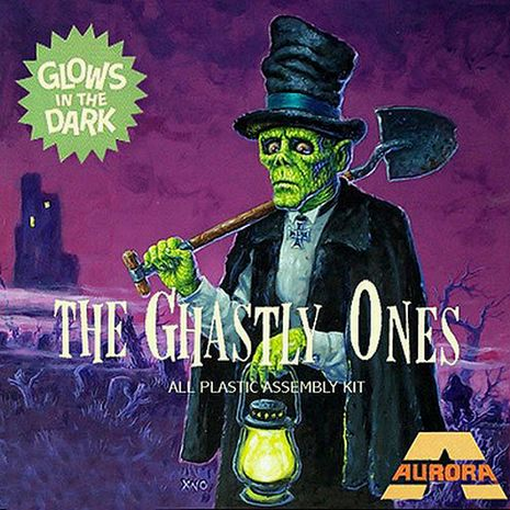 Ghastly Ones - All Plastic Assembly Kit