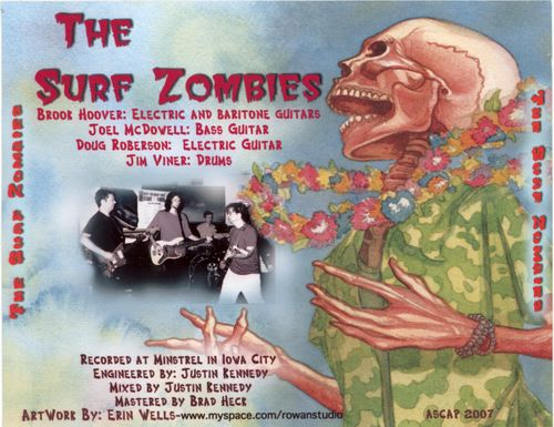 The Surf Zombies - The Surf Zombies back
