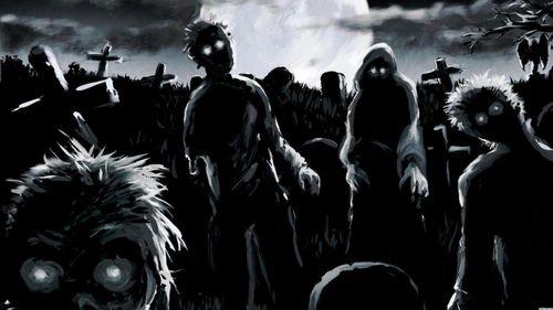zombie dance party