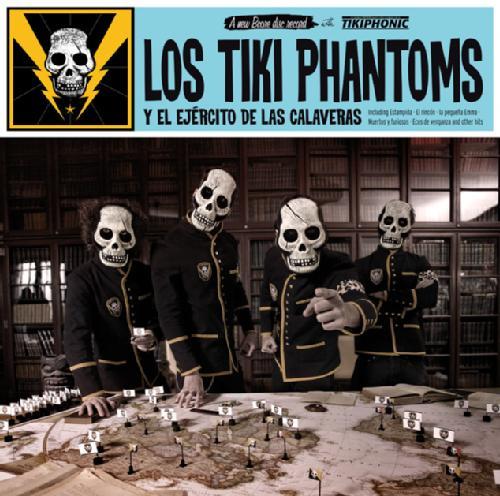 Los Tiki Phantoms Y El EjercitoDeLasCalaveras-front