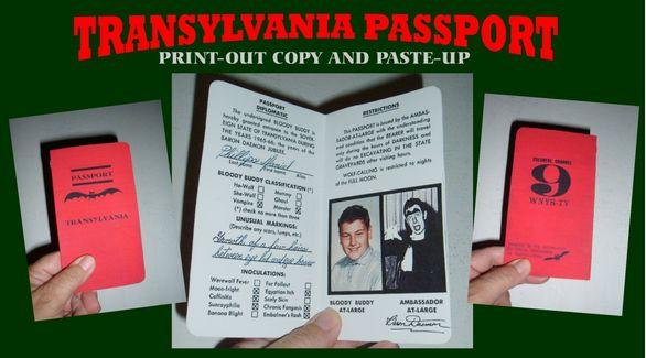 Transylvania passport
