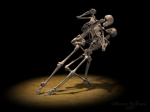 dance skeleton