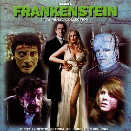 The Hammer Frankenstein Film Music Collection (front)