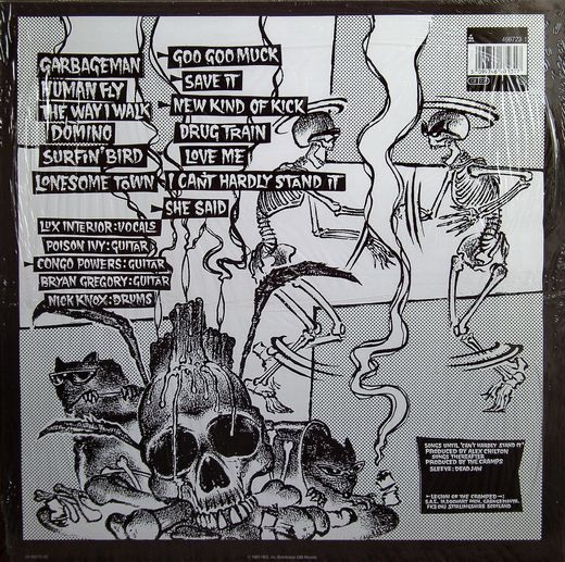 The Cramps - ...Off the Bone (back)