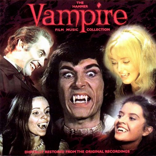 The Hammer Vampire Film Music Collection (front)