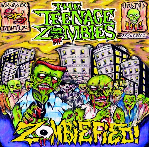 The Teenage Zombies=Zombified=Front=2012