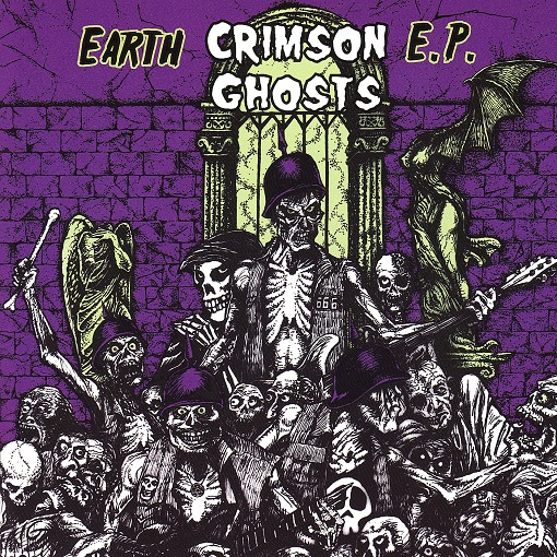 The Crimson Ghosts - Earth EP
