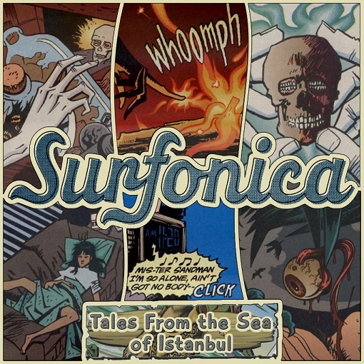 Surfonica - Tales From the Sea of Istanbul (EP) - cover