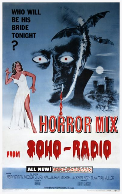Horror Halloween Mix from Soho-Radio
